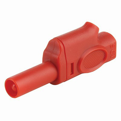 Insulated Piggyback Banana Plug 4mm (Red)