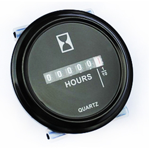 Hour Meters Panel : Waterproof panel mount hour meter v dc mr positive nz