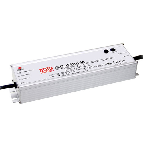 MeanWell AC-DC 12v 150w Waterproof CV and CC LED Driver