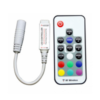17 Button Programable Mini RF RGB Controller and Remote