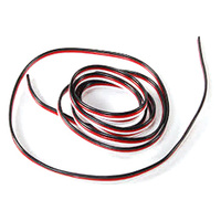 3 Core 22AWG Servo Style Electrical Wire (500mm)