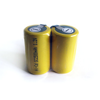 No Name 2500mah NiCD Sub C Batteries with Tabs (Pair)