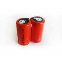 No Name 2900mah NiMh Sub C Batteries with Tabs (Pair)