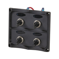 4 Way Switch Panel with LED Indicator