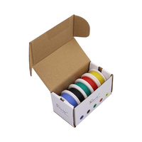 Handy 5 Colour 10m Hook Up Wire Dispenser Box