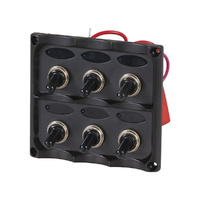 6 Way Switch Panel with LED Indicator