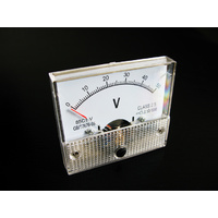 Analogue Voltmeter (DC) 0-50 Volts