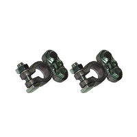 Heavy Duty Battery Terminal Clamps (Pair)