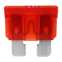 Standard 10a ATS Blade Fuse Red (Box of 50)