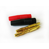 Banana Plugs Solder Type (Pair)