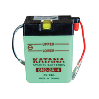 Katana 6N2-2A-4 Motorcycle Battery