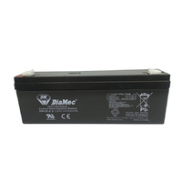 DiaMec 12v 2.2ahr AGM Lead Acid Battery