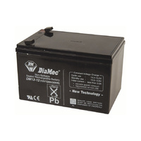 DiaMec 12v 12ahr AGM Lead Acid Battery