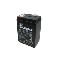 DiaMec 6v 4.5ahr AGM Lead Acid Battery