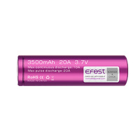 EFest IMR 3.7v 3500mah 20a High Drain 18650 Battery