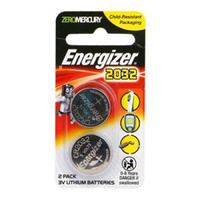 Energizer 3v CR2032 Lithium Button Cell Battery (2 Pack)