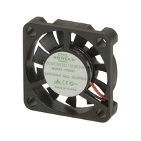 12v DC 30mm Thin Ball Bearing Fan - 2 Wires