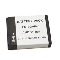 GoPro HD Hero 1, Hero 2 Replacement 1100mah Battery