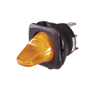 Duckbill Off/On Toggle Switch with Amber LED