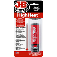 J-B Weld High Heat Epoxy Putty Stick For High Heat Applications