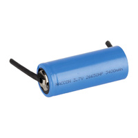 Generic Li-Ion 26650 3.7v 3400mah Battery With Tabs