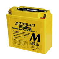 MotoBatt MB5.5U Quadflex 12v 105ccA Maintenance Free Battery