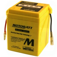 MotoBatt MBT6N4 6v Maintenance Free Battery
