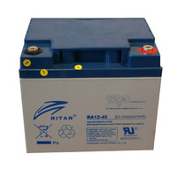 Ritar 12v 45ahr AGM Deep Cycle Lead Acid Battery