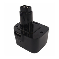Black and Decker 12v 2.0ah Ni-CD Compatible Power Tool Battery (v2)