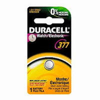 Duracell 377 SR66 Silver Oxide Watch Battery