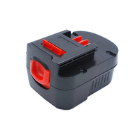Black and Decker 9.6v 2500mah Ni-MH Compatible Power Tool Battery