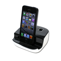 USB Lightning Style Charger Stand for Portable Devices