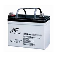 Ritar 12v 33ahr AGM Deep Cycle Lead Acid Battery