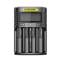 Nitecore UM4 4 Slot Li-ion, Ni-MH and NiCD Battery Charger