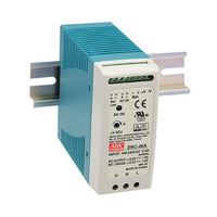 MeanWell 13.8v 1.9a DIN Rail Backup Power Supply and Charging Module