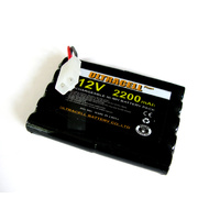No Name 12v 2200mah Flat NiMh Battery Pack