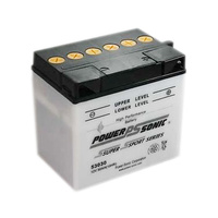 Power Sonic 53030 12v 280ccA 30ahr Conventional Motorbike Battery