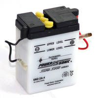 Power Sonic 6N2-2A-4 6v 16ccA 2ahr Conventional Motorbike Battery