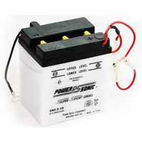 Power Sonic 6N5.5-1D 6v 44ccA 5.5ahr Conventional Motorbike Battery