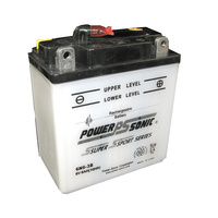 Power Sonic 6N6-3B 6v 48ccA 6ahr Conventional Motorbike Battery