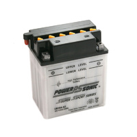 Power Sonic CB10A-A2 12v 160ccA 11ahr Conventional Motorbike Battery (YB10A-A2)
