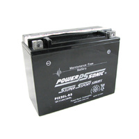 Power Sonic PIX50L-BS 12v 280ccA 21ahr Sealed AGM Motorbike Battery