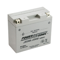 Power Sonic PT12B-4 12v 115ccA 10.5ahr Activated AGM Motorbike Battery (YT12B-BS)