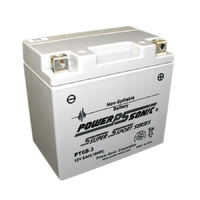 Power Sonic PT6B-3 12v 75ccA 5ahr Activated AGM Motorbike Battery (YT6B-3)