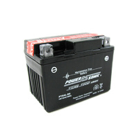 Power Sonic PTX4L-BS 12v 40ccA 3ahr Sealed AGM Motorbike Battery (YB4L-B, YTX4L-BS)