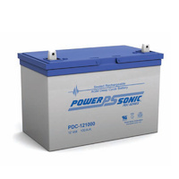 Power Sonic 12v 105ahr Deep Cycle Sealed AGM Battery