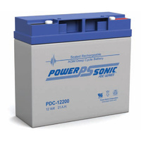 Power Sonic 12v 21ahr Deep Cycle Sealed AGM Battery