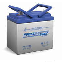 Power Sonic 12v 35.4ahr Deep Cycle Sealed AGM Battery