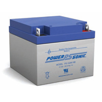 Power Sonic 12v 26ahr Sealed AGM Battery