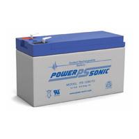 Power Sonic 12v 8.5ahr Sealed AGM Battery (F2)